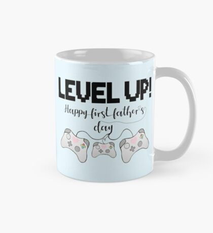 Gaming - Happy First Father's Day - GAMER - LEVEL UP! Mug