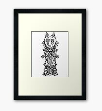 Wolf Totem Framed Print