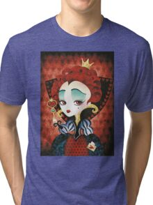 Queen of Hearts Tri-blend T-Shirt