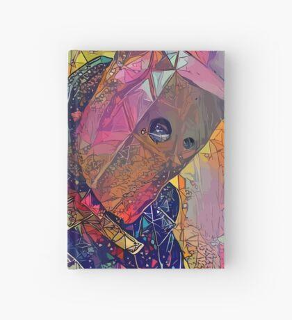 Abstract CrasH Talk Hardcover Journal