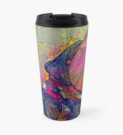 Abstract CrasH Talk Travel Mug