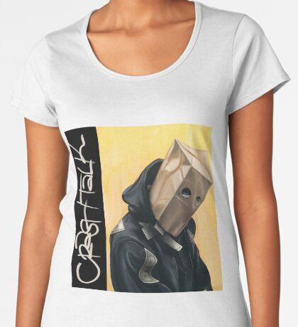 CrasH Talk Premium Scoop T-Shirt