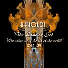 Behold! The Lamb of God. John 1:29 by Zen-Rt