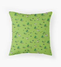 Farm countryside Throw Pillow