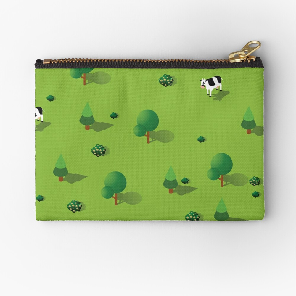 Farm countryside Zipper Pouch
