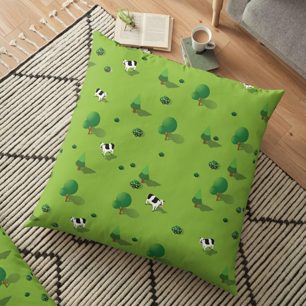 Farm countryside Floor Pillow