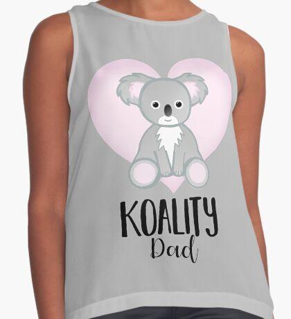 Koala Fathers Day - Dad - Daddy - Koality Sleeveless Top