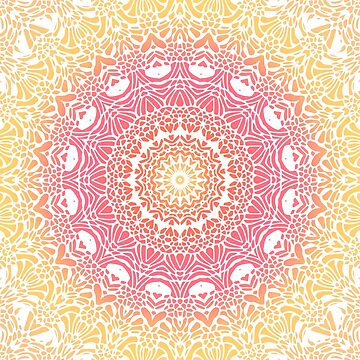 Grapefruit and Lemon Mandala by kellydietrich
