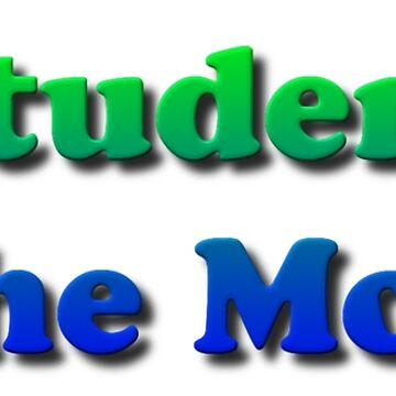 Student of The Month by znamenski