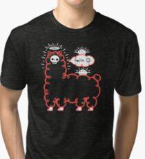 Skullpaka und UFOs ruhen sich aus Vintage T-Shirt