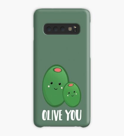 OLIVE YOU - Pun - Funny - Green - Olives Case/Skin for Samsung Galaxy