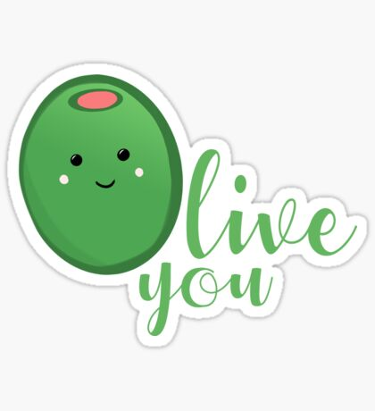 OLIVE YOU - Typography - Calligraphy - Text Sticker