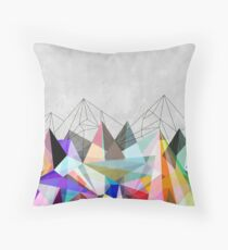 Colorflash 3 Throw Pillow