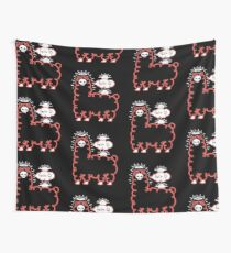 Skullpaka and UFOs are having rest  Wall Tapestry