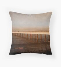 Perspective - Days Gone By Throw Pillow
