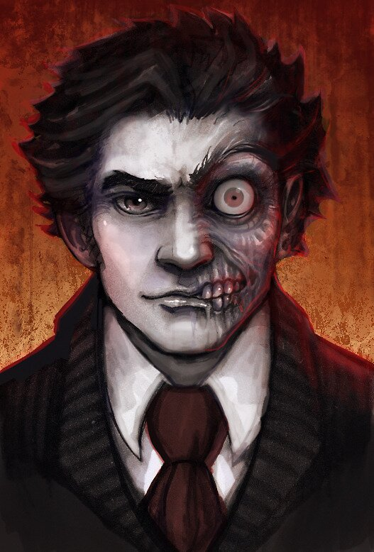 """Two Face"" By Georgia Patton"