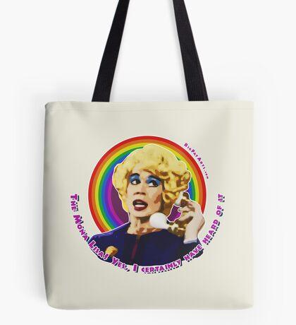 Miss Babs Mona Lisa Tote Bag