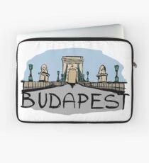 Chain Bridge in Budapest Laptop Sleeve