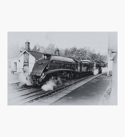No 60007  Sir Nigel Gresley at Grosmont. Photographic Print