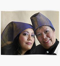 (574) Placemat hats Poster