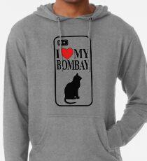 I love my Bombay Cat Lightweight Hoodie