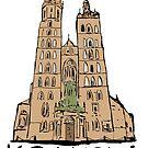 Basilica of Saint Mary in Krakow by Logan81