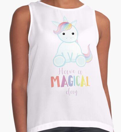 Unicorn - Have a MAGICAL Birthday Sleeveless Top