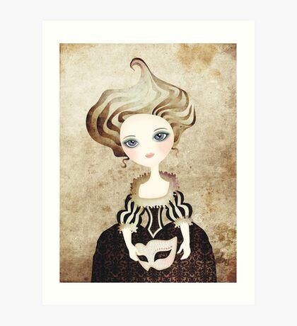 Madame Cupcake Art Print