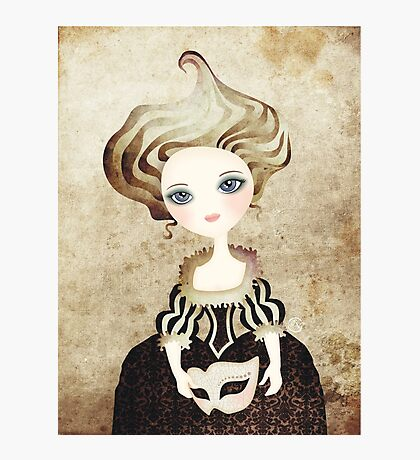 Madame Cupcake Photographic Print