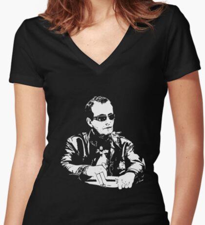 Devilfish - David Ulliot Fitted V-Neck T-Shirt