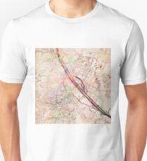 Vienna map Unisex T-Shirt