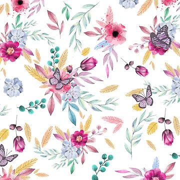 FLORAL PRINT  by MallsD