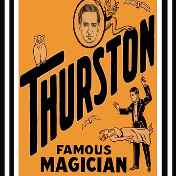 Thurston Famous Magician by chumi