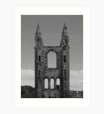 St Andrews Abbey, Scotland Art Print