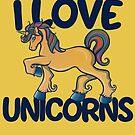 I love Unicorns by BubbSnugg LC