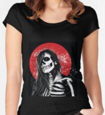 D black beauty 2 Women's Fitted Scoop T-Shirt