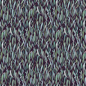 Immergrüner Eukalyptuswald von runcatrun