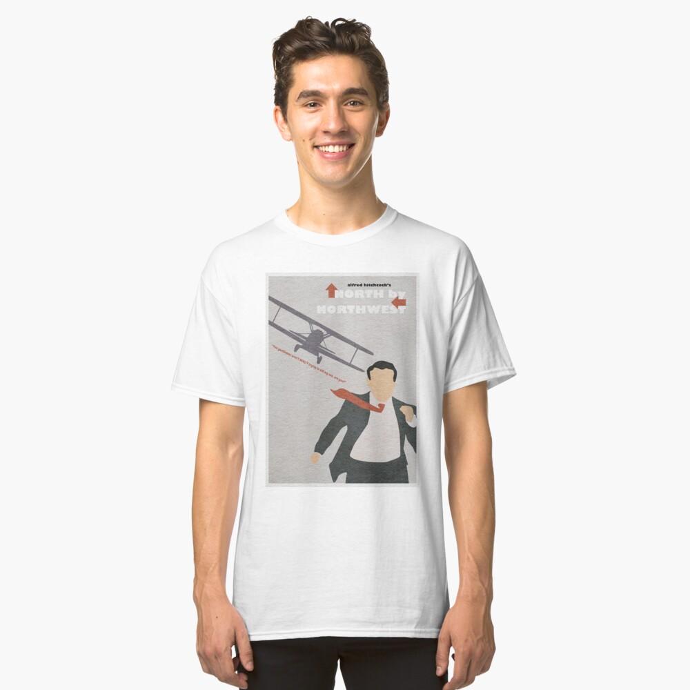 Nord nach Nordwesten Classic T-Shirt