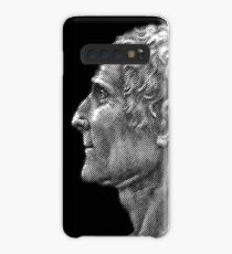 Enlightenment influencer Jean-Jacques Rousseau, portrait Case/Skin for Samsung Galaxy