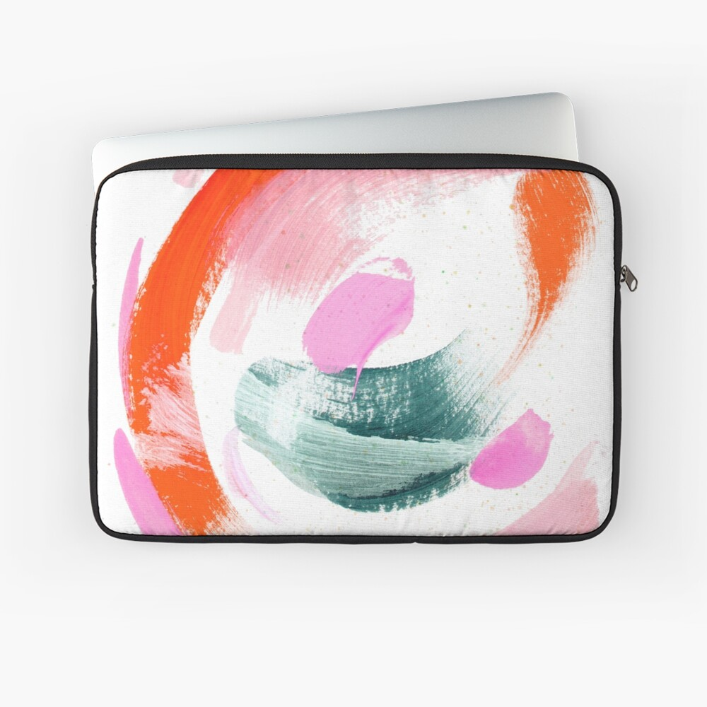 Abstract Acrylic Painting Laptop Sleeve