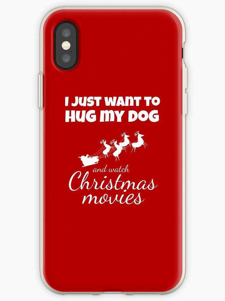 «I JUST WANT TO HUG MY DOG AND WATCH CHRISTMAS MOVIES» de AvgSuperheroine