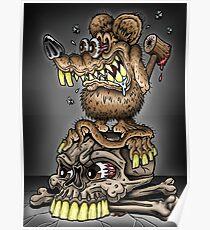 Schmutzige Ratte Poster