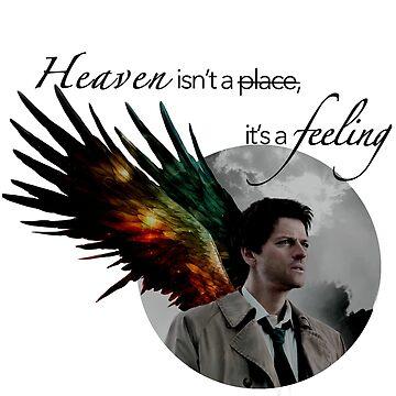 Castiel: Heaven by JasperSteel