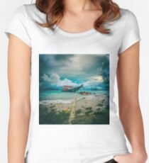 time to rest Women's Fitted Scoop T-Shirt