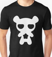 Lazy Bear Black and White Unisex T-Shirt