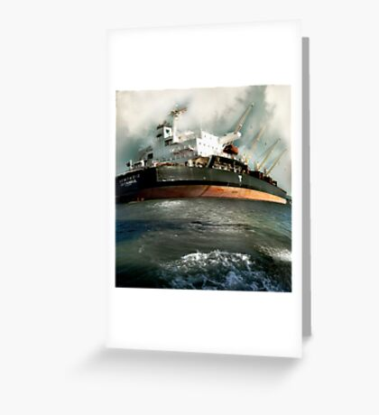 Istanbul Delivers Greeting Card