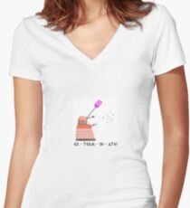 By Special Order of Davros Women's Fitted V-Neck T-Shirt