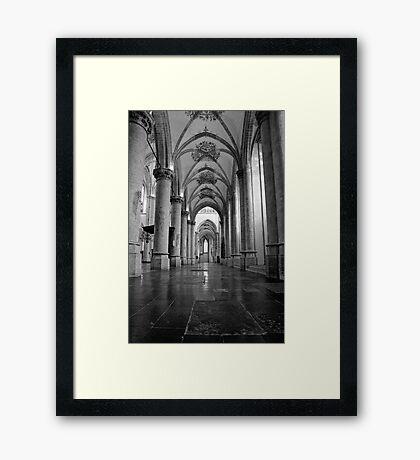 Grote Kerk, Breda, Netherlands Framed Print