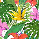 Tropical Leaves by TatyanaDron