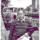 An elder's stroll by Gianmarco Caprio
